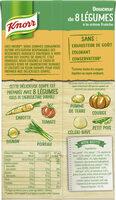 Knorr Soupe Liquide Douceur de 8 Légumes à la crème fraîche 1l - Voedingswaarden