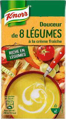 Knorr Soupe Liquide Douceur de 8 Légumes à la Crème Fraîche 50cl - Prodotto - fr