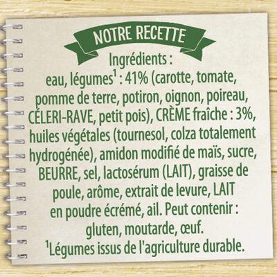 Knorr Soupe Liquide Douceur de 8 Légumes à la Crème Fraîche 50cl - Ingredienti - fr