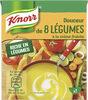 Knorr Soupe Liquide Douceur de 8 Légumes à la Crème Fraîche 30cl - Product