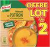 Knorr Soupe Velouté de Potiron à la Crème Fraîche 50cl Lot x 2 - Produit