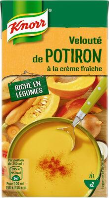 Knorr Soupe Liquide Velouté Potiron Crème Fraîche 50cl - Produit - fr