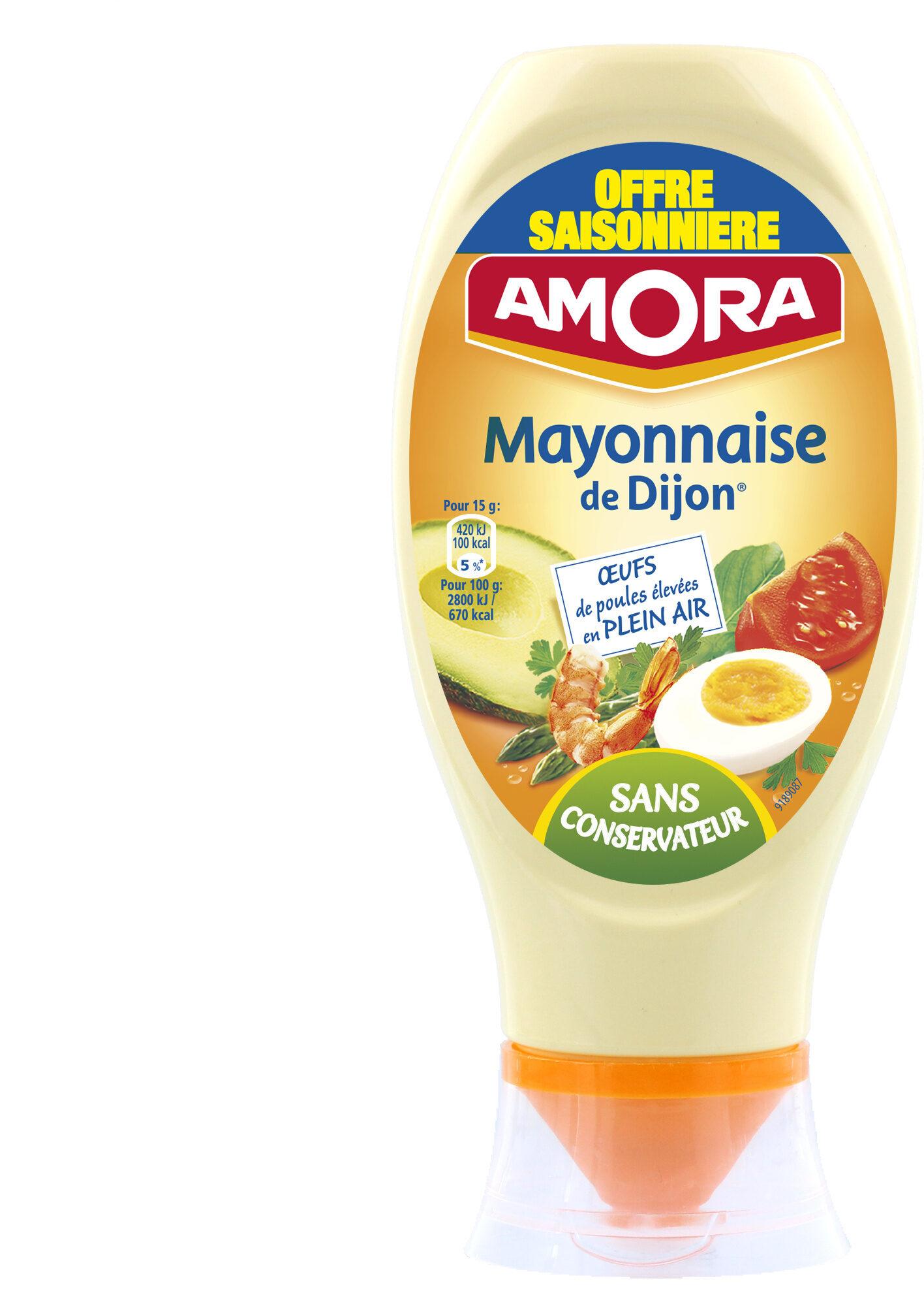 Amora Mayonnaise Nature Flacon Souple 415g Offre Saisonnière - Product - fr