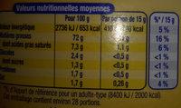 Amora Mayonnaise Nature Flacon Souple 415g Offre Saisonnière - Nutrition facts - fr