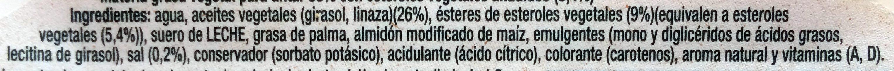 Pro activ Colesterol 250G - Ingrédients - fr