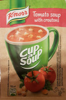 Tomato soup with croutons - Product