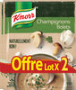 Knorr Soupe Champignons Bolets 57g 2 Portions lot de 3 - Produit