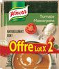 Knorr Soupe Déshydratée Tomate Mascarpone Lot de 2x70g - Product