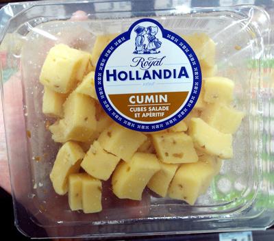 Cumin cubes salade et apéritif - Produit