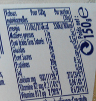 Cumin cubes salade et apéritif - Informations nutritionnelles