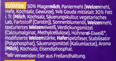 Veggie Schnitzel, Gouda - Inhaltsstoffe - de