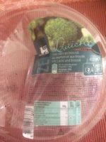 Quiche Saumon et Brocoli - Product - fr