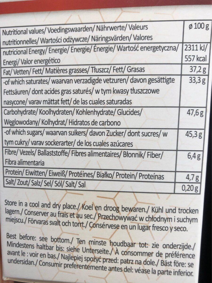 Truffes au cacao - Informations nutritionnelles - fr