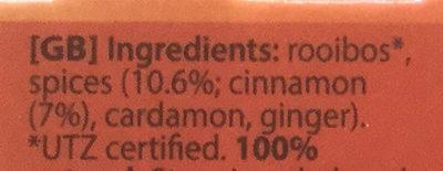 Rooibos original - Ingredients