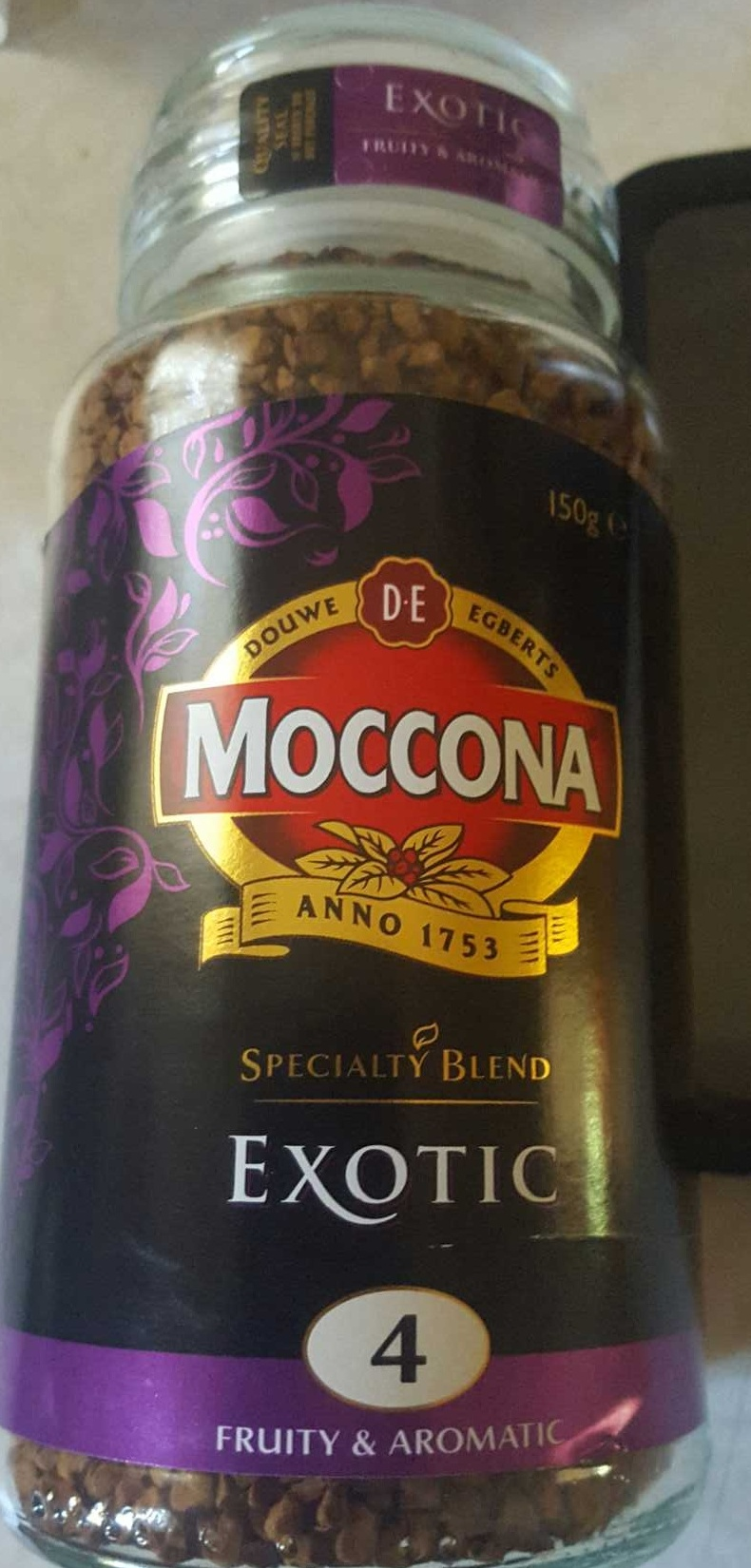 Moccona Exotic - Product