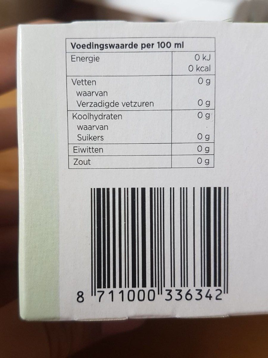 Manille - Nutrition facts - fr