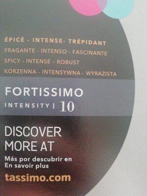 Cápsulas De Café L'Or Fortissimo Tassimo - Ingrédients