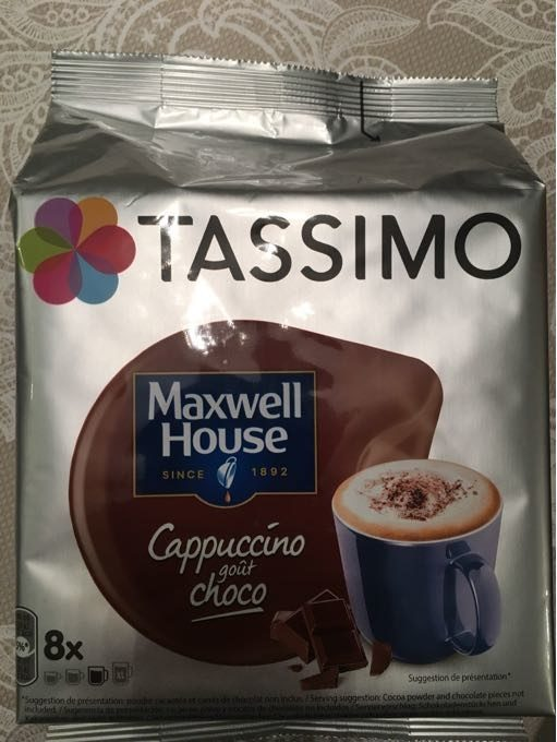 Tassimo cappuccino goût choco - Product - fr