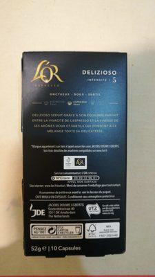 L'Or Espresso - Ingredients