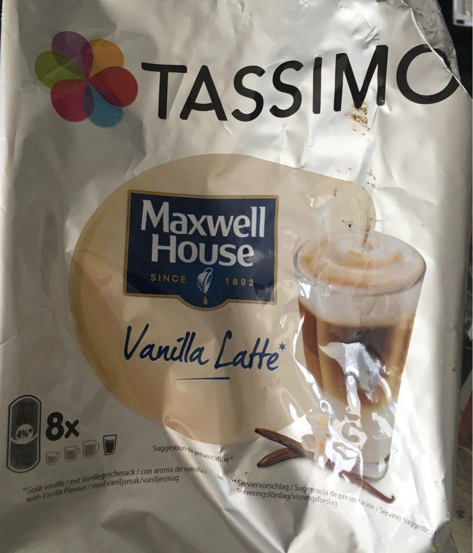 Vanilla latte - Tassimo