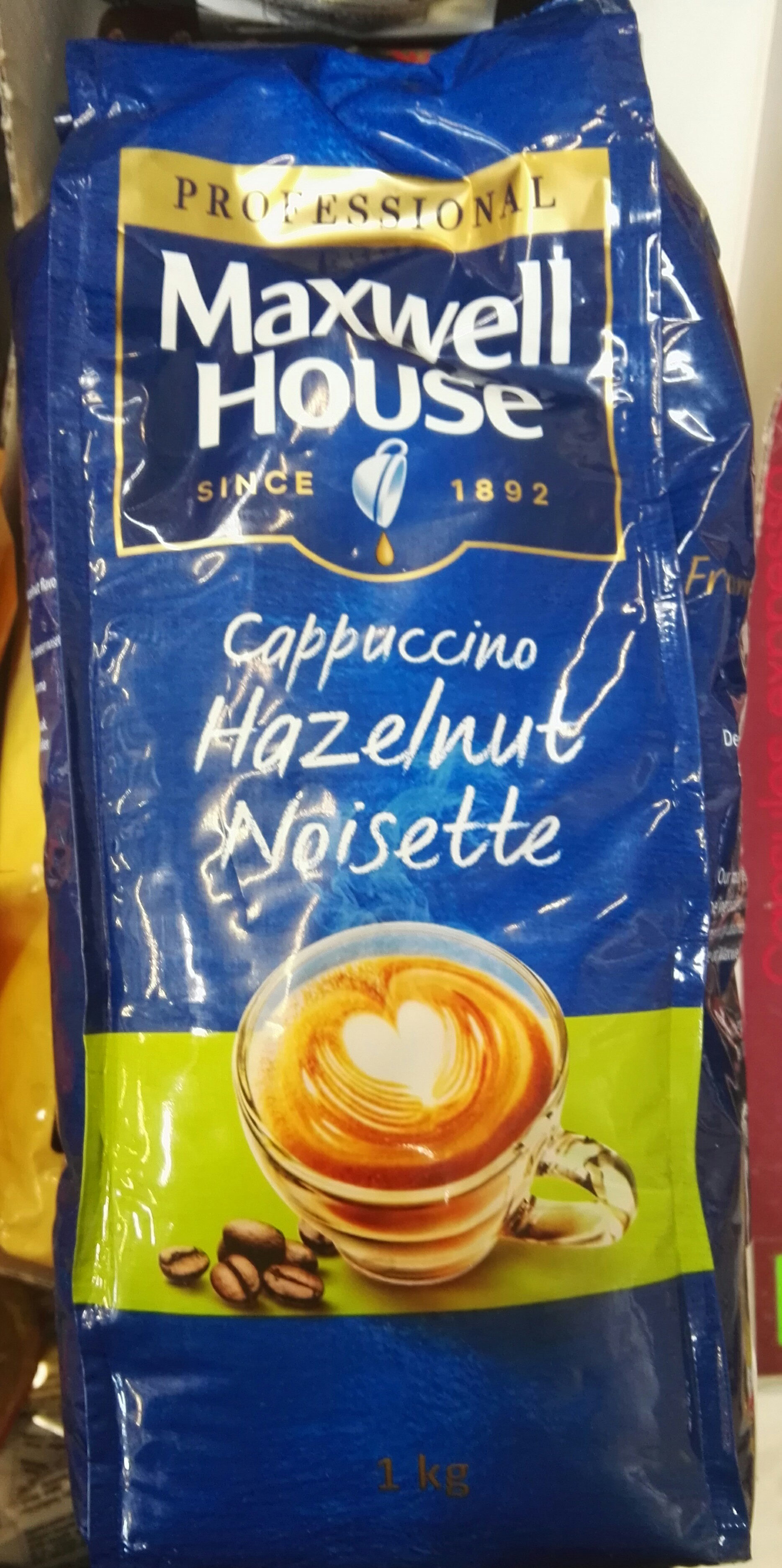 Capuccino noisette - Product - fr
