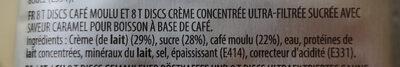 L'OR Latte Macchiato Caramel Coffee Pods 8 Servings - Zutaten - fr