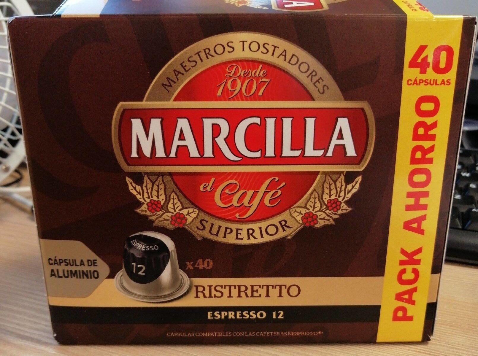 Café cápsulas ristretto - Produit
