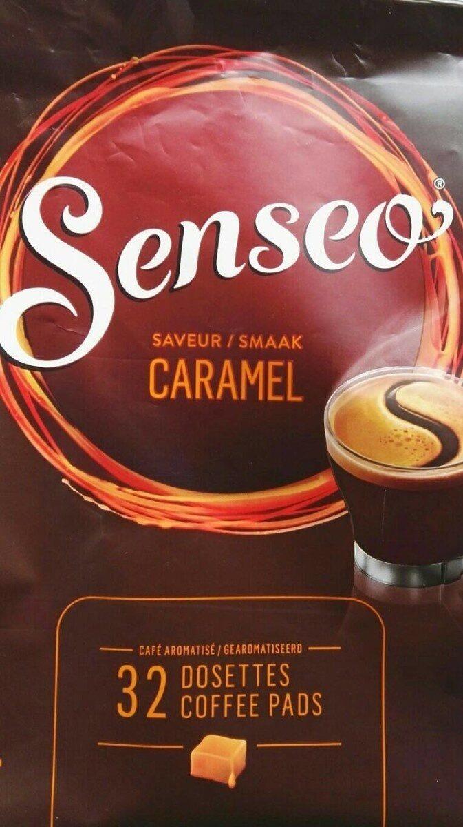 Café senseo caramel - Valori nutrizionali - fr