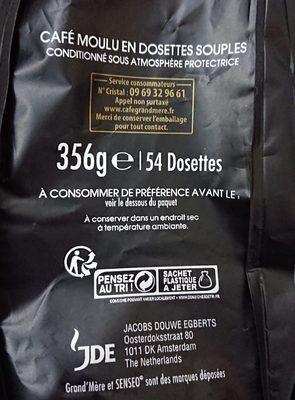 Café - Ingredienti - fr