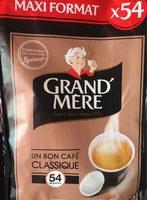 Café dosettes - Produit - fr