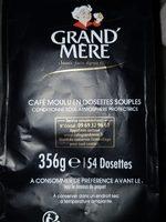 Dosettes souple Senseo Café - Ingredienti - fr