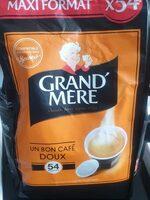Café Grand Mère Doux - Valori nutrizionali - fr
