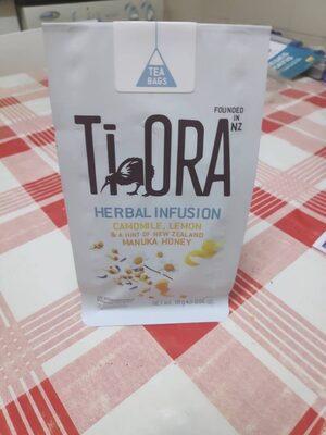 Herbal Infusion Camomile, Lemon & Manuka Honey Tea Bags x15
