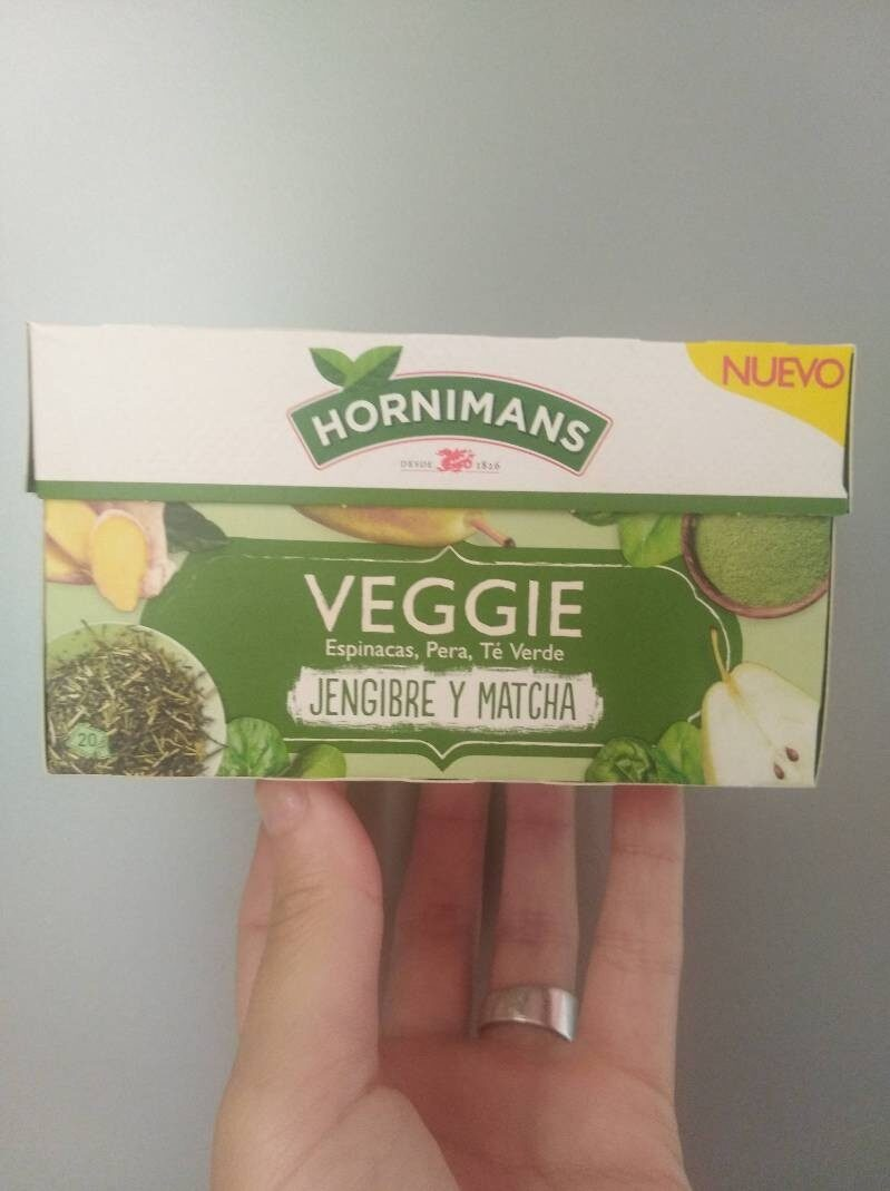 Veggie jengibre y matcha - Producto - es