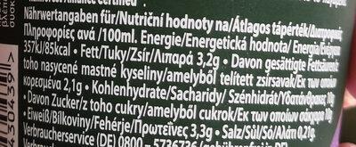 Typ Cappuccino Choco - Informations nutritionnelles - de