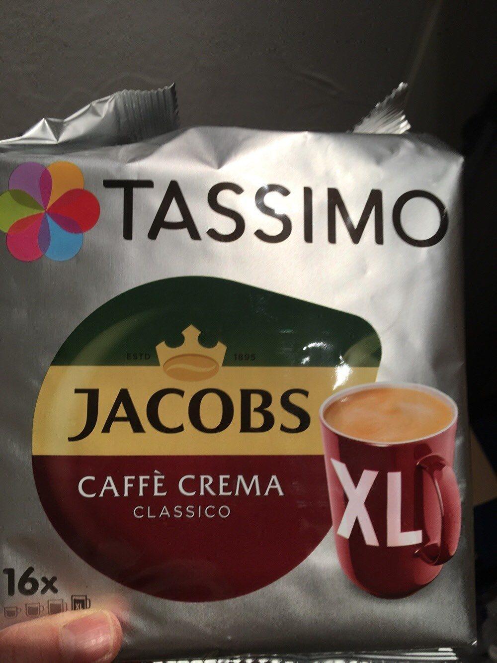 tassimo Crema classico - Produit