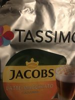 Tassimo Jacobs Latte Macchiato Caramel - Produit