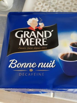 Café décaféiné Bonne Nuit - Produit