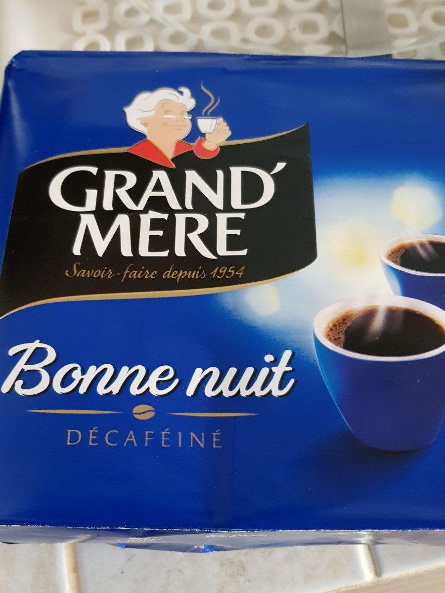 Café décaféiné Bonne Nuit - Ingrédients