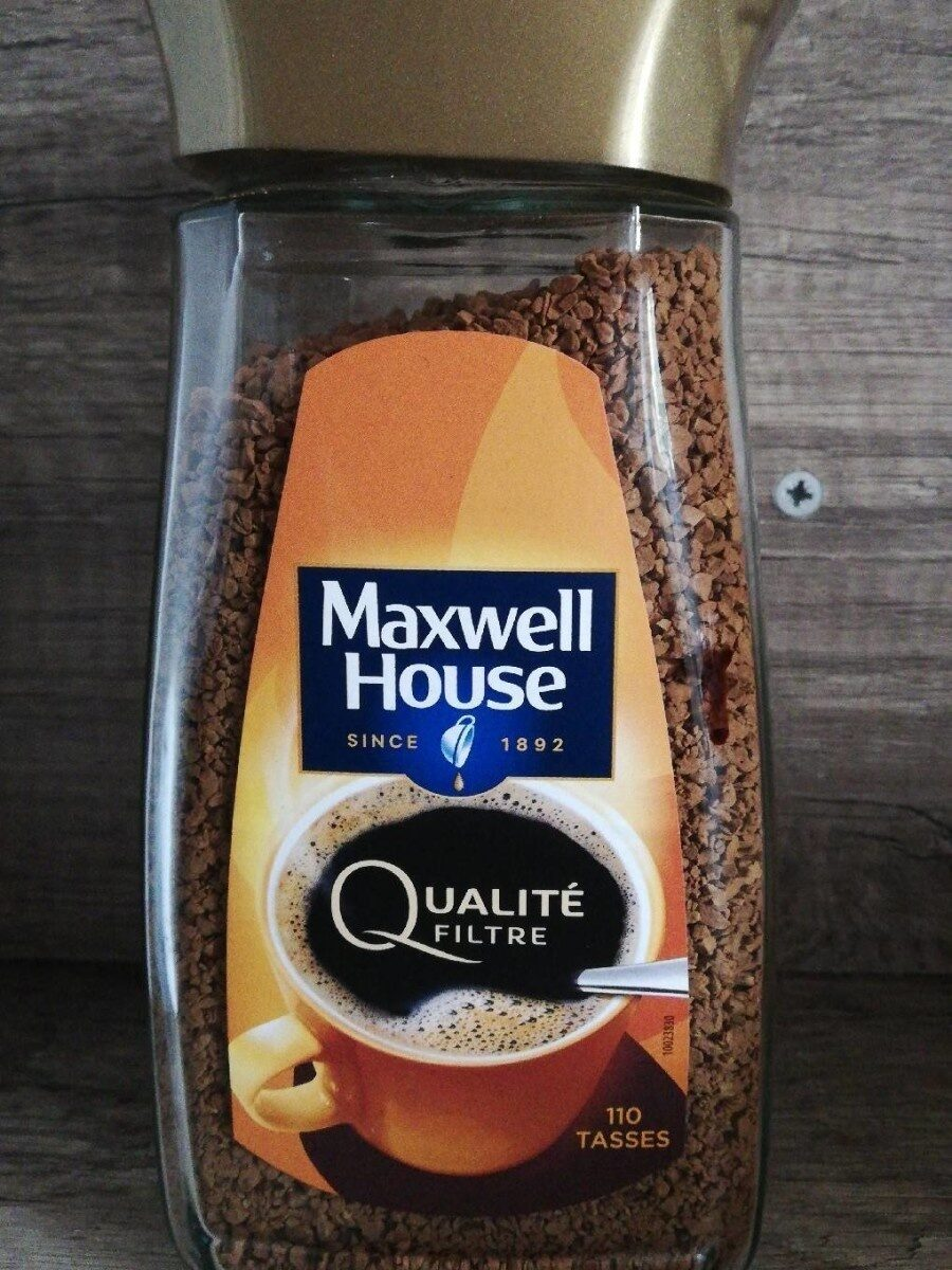 Maxwell House - Voedingswaarden - en