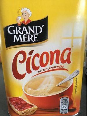 Cicona au café Grand' Mère - Produit - fr