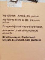 Roux sauce blanche - Ingrediënten - fr