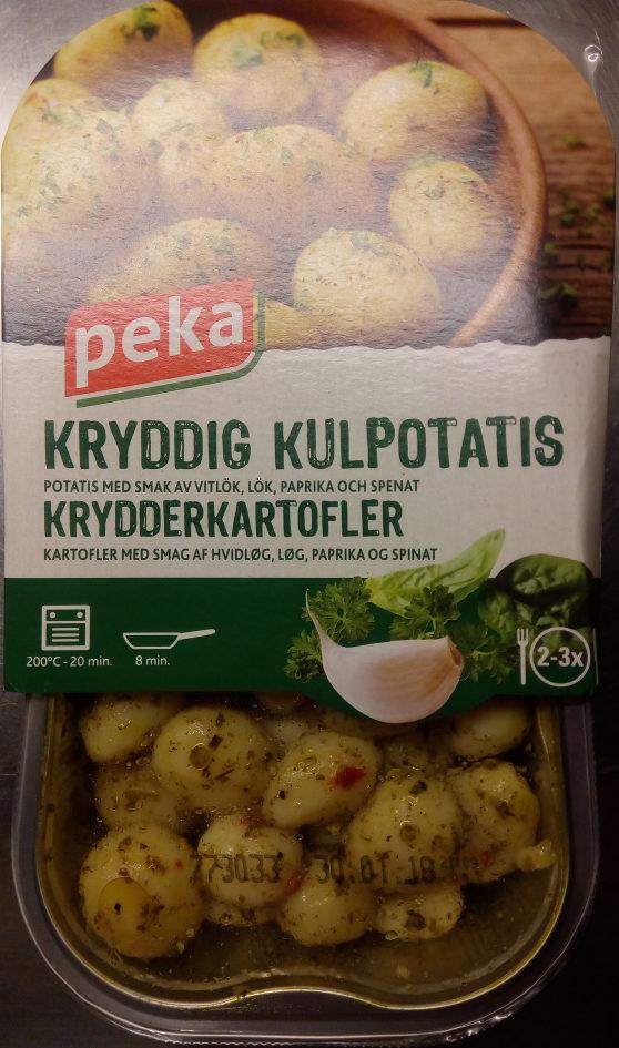 Peka Kryddig kulpotatis - Product