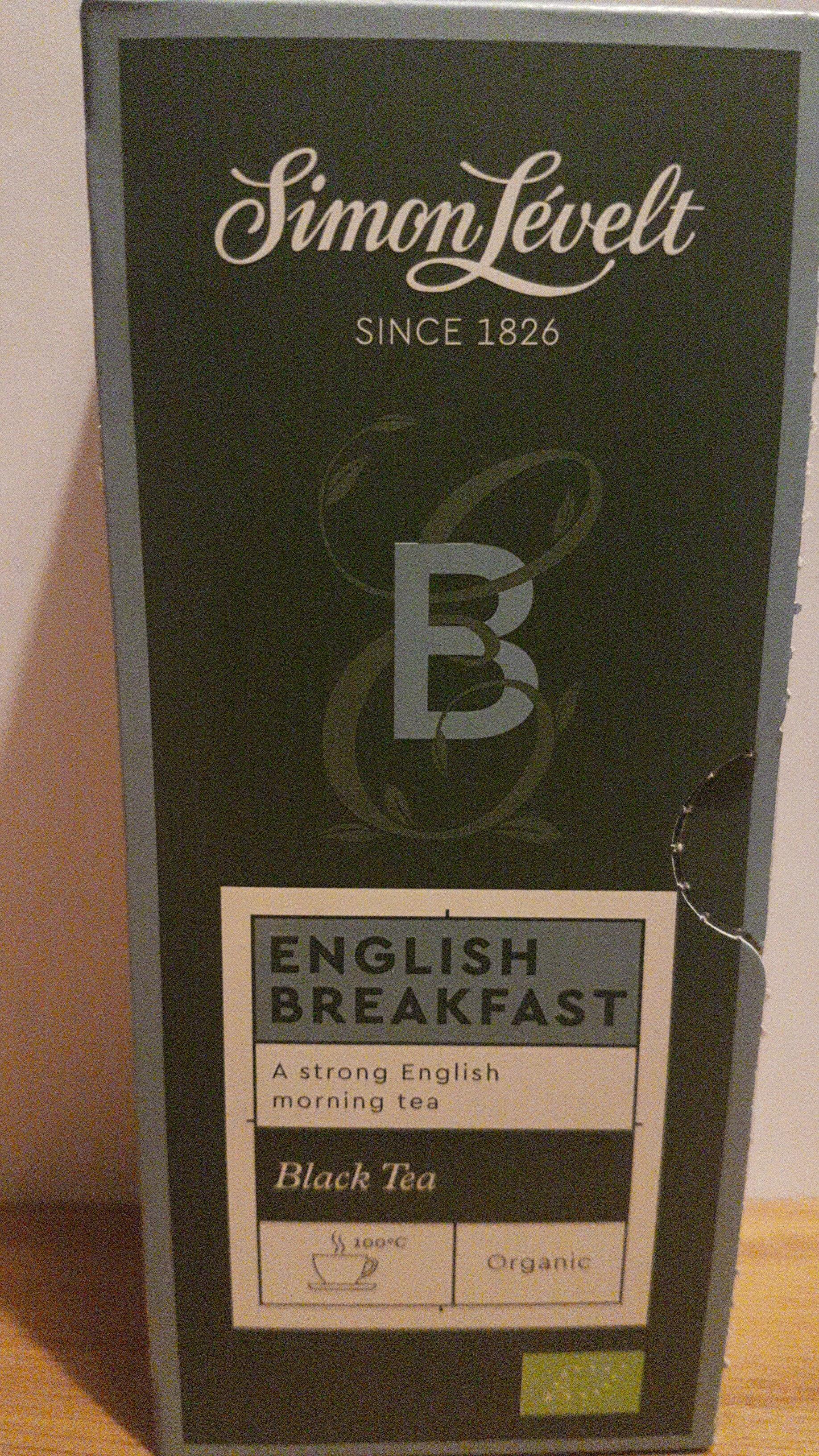 English breakfast - Black tea - Product - en