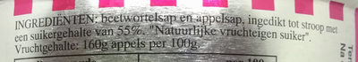 Rinse appelstroop - Ingredients