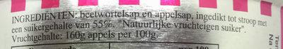 Rinse appelstroop - Ingredients - nl