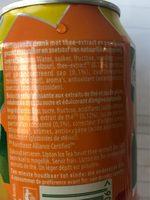 Lipton Ice Tea -peach - No Bubbles - Ingredients - fr