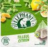 Elephant Infusion Tilleul Citron 100% Arôme Naturel 20 Sachets - Product