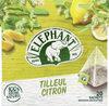 Elephant Tisane Tilleul Citron 100% Arôme Naturel 20 Sachets - Product