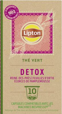 Lipton Thé Vert Detox 10 Capsules - Produit